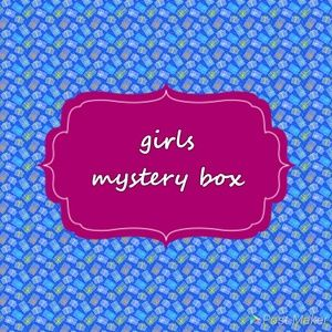 Other - baby girl mystery box-